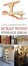 Wood Storage Rack Woodworking Plans by Best 25 Lumber Storage Ideas On Pinterest Wood Storage Rack