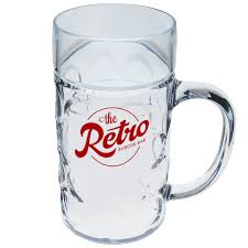 design plastic mug personalized 1 2 liter plastic german beer mugs hwg05 discountmugs