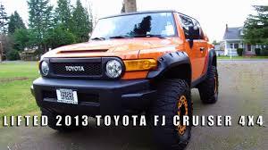 toyota cruiser lifted lifted 2013 toyota fj cruiser 4x4 youtube