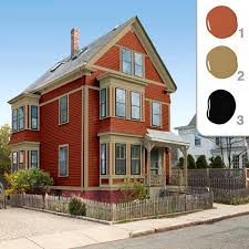 extraordinary color combination for exterior house painting 11