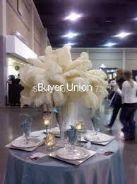 Ostrich Feather Centerpieces Wholesale by Online Buy Wholesale Feathers Cream From China Feathers Cream