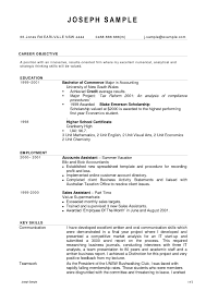Example Resume Australia by Sample Resume Australian Format Free Resume Example And Writing