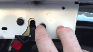 2005 honda civic trunk latch how to adjust the trunk latch on a car ford focus