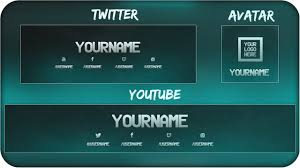 free youtube banner layout free youtube banner twitter header template psd direct download