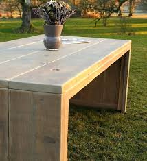 reclaimed wood outdoor table rustic wood outdoor furniture plantronicsgreece club