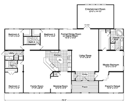 family room floor plans the gotham flex vr57764b manufactured home floor plan or modular