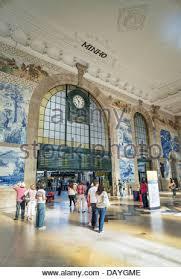 Arcaid Images Stock Photography Architecture by Portugal Porto Sao Bento Railway Station Train Platform City