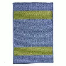 Bright Green Rug Striped 5 X 7 Outdoor Rugs Rugs The Home Depot