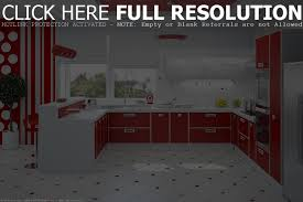 red and white kitchen cabinets home design ideas