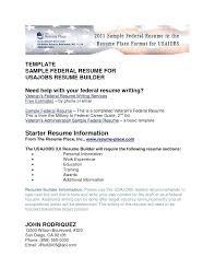 federal resume exles veteran resume exles