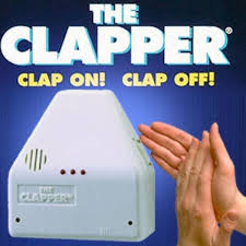 clap to turn off lights the clapper new easy