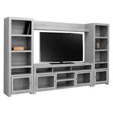 glass cabinet doors for entertainment center modern gray entertainment center entertainment center wall unit