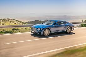 bentley car pink 2019 bentley continental gt cruises out of crewe automobile magazine