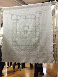 vintage linen bedcover thequiltshow com