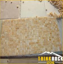 Honey Onyx Marble Mosaic Tile For Kitchen Backsplash Factory China - Onyx backsplash