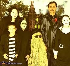 Addams Family Halloween Costumes Creative Homemade Addams Family Costume