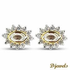 cheap diamond earrings te 25 den fazla en iyi diamond earrings for women fikri