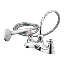 product details b9862 two hole bath shower mixer with shower