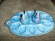 deviled egg platter vintage vintage retro ceramic deviled egg plate or platter
