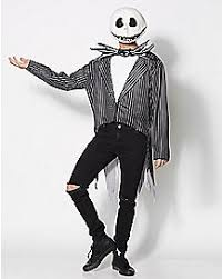 Jack Skeleton Costume Nightmare Before Christmas Tim Burton Jack And Sally Nbc