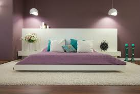peinture pour chambre coucher chambre coucher moderne design ou romantique couleur peinture pour a