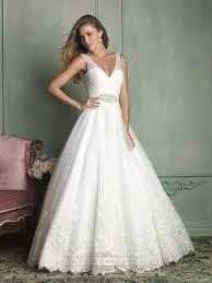 wedding dress sheer straps sheer straps v neck and v back gown wedding dress 2443365