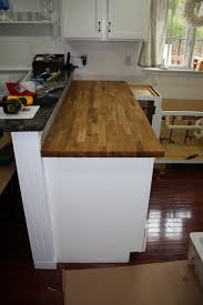 How To Install Butcher Block Countertops Stillwater Story April 2011