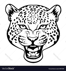 jaguar icon tribal jaguar royalty free vector image vectorstock