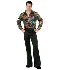 disco black pants men halloween costumes