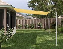 Backyard Shade Canopy by Economy Shade Sails Sun Sail Easy On The Budget Yard