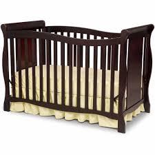 Foldable Baby Crib by Delta Children Brookside 4 In 1 Convertible Crib Dark Chocolate