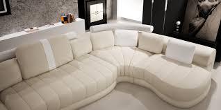 couch u form wohnlandschaft u form leder baroni