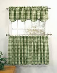 key west 3 piece kitchen curtain tier set curtainworks com