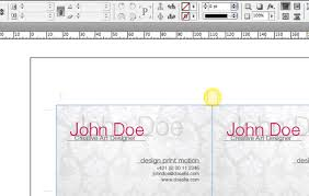 quick tip how to impose business cards for digital printing with