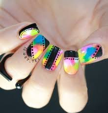 25 rainbow nail art ideas that are perfect for summer