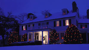 staggering house lights outdoor whole