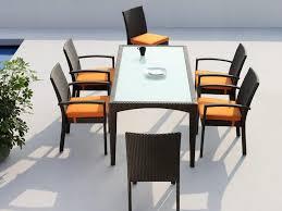 11 Piece Patio Dining Set - patio 63 8 person outdoor dining set patio dining sets