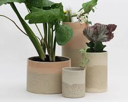 ceramic planter etsy