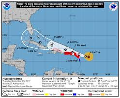 irma is now one of the strongest hurricanes ever recorded in the