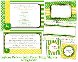 john deere baby shower invitations plumegiant com