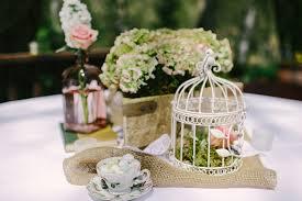 vintage centerpieces image 225486 centerpieces vintage birdcage burlap hydrangea