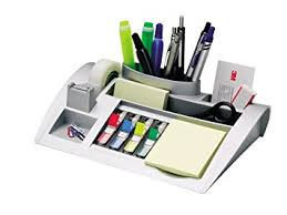 Post It Desk Organizer Mmmc50 Post It Notes Dispenser With Weighted Base