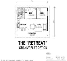guest cottage floor plans tiny house single floor plans 2 bedrooms ubuild designs