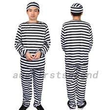 Halloween Jail Costumes Prison Uniform Ebay