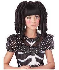 ventriloquist doll halloween costume rag doll curls kids wig wigs fitness pinterest kids
