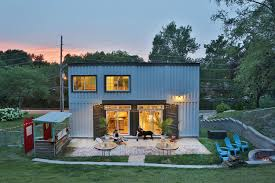 shipping container house lets its owners live mortgage free curbed