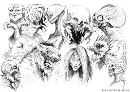scary sketches u2014 the art of austen mengler