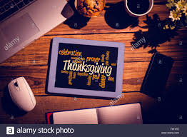 thanksgiving words composite image of thanksgiving words stock photo royalty free