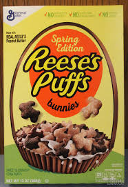 reese s easter bunny review reese s puffs bunnies edition