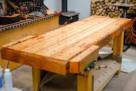 woodworking bench top design bench decoration